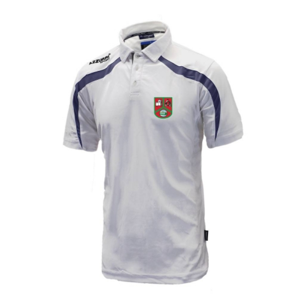 Picture of st annes 2 Classic Poloshirt White-Navy