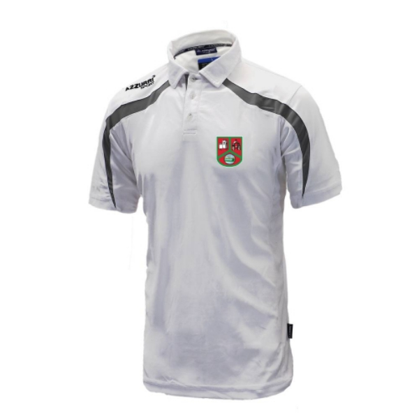 Picture of st annes Classic Poloshirt White-Grey