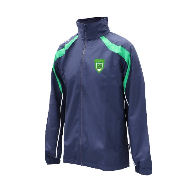 Picture of O Tooles Brosna Rain Jacket Navy-Emerald-White