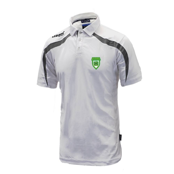 Picture of O Tooles Classic Poloshirt White-Grey