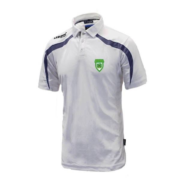 Picture of O Tooles Classic Poloshirt White-Navy