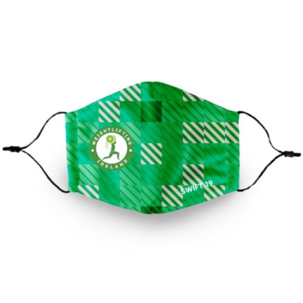 Picture of Weightlifting Ireland Mask Custom