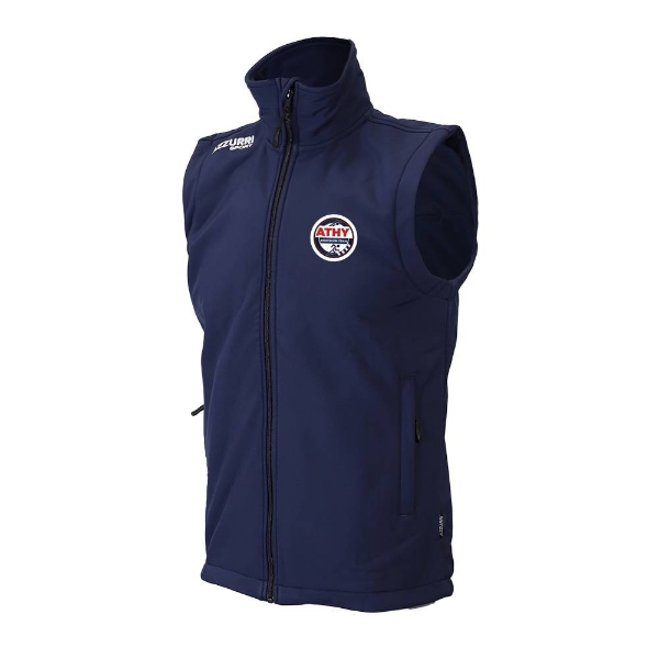 Picture of Athy Triathalon Club Sleeveless Soft Shell Navy