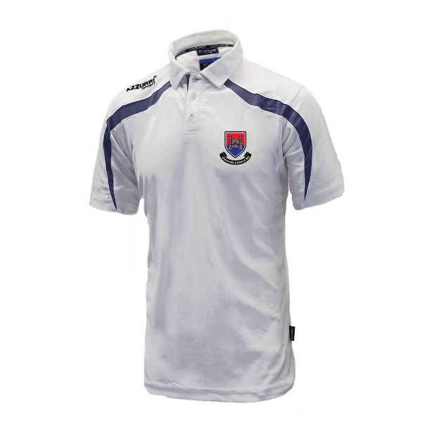 Picture of Charleville RFC Classic Poloshirt White-Navy
