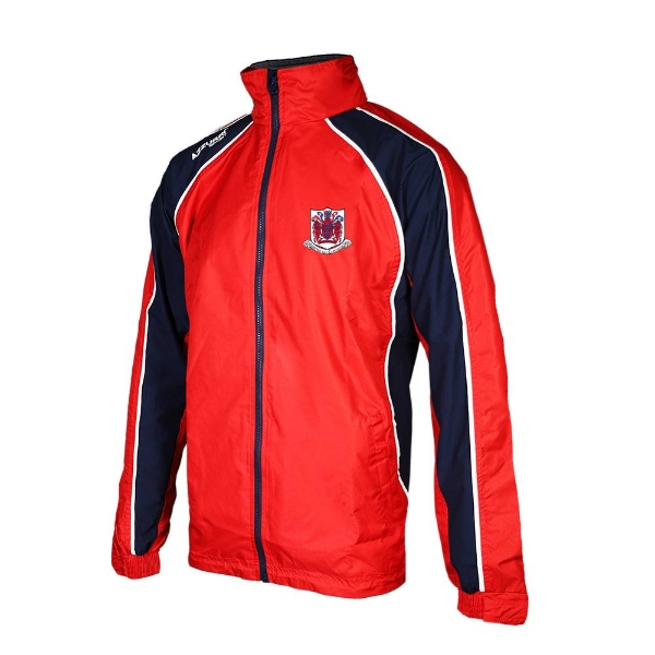 Picture of Courcey Rovers Barrow Rain Jacket Red-Navy-White