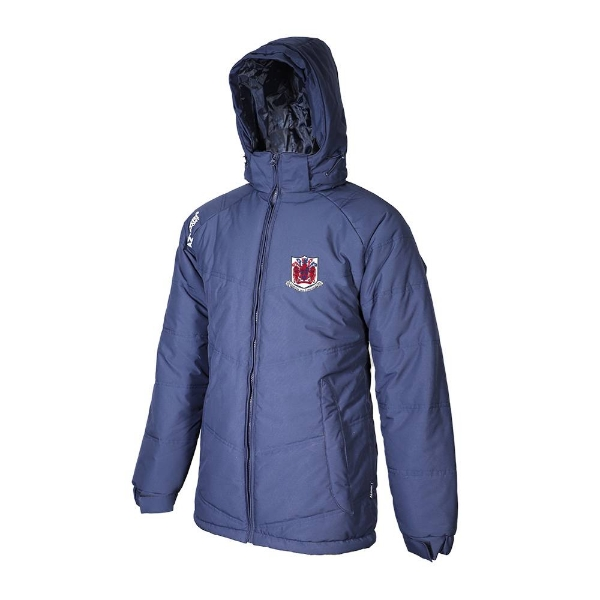 Picture of Courcey Rovers Typhoon Jacket Navy