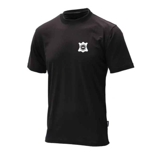 Picture of PORTLAW UNTIED FC TEE Black
