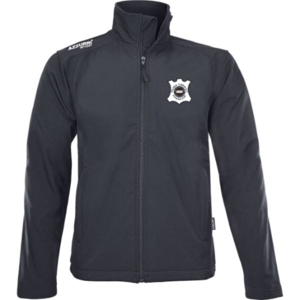 Picture of PORTLAW UNITED FC Soft Shell Fleece Black