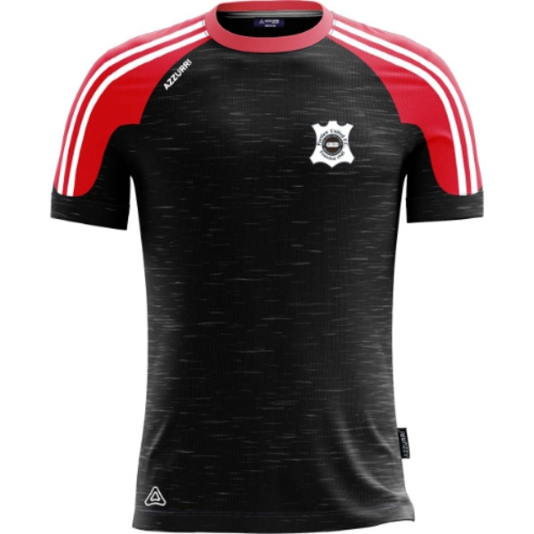 Picture of TT750 T Shirt Black-Melange-Red-White