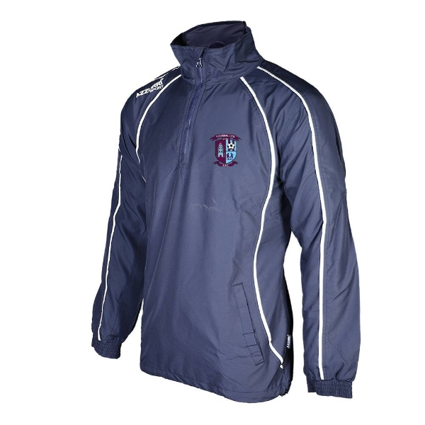 Picture of Youghal United Qtr Zip Jacket Navy-Navy-White