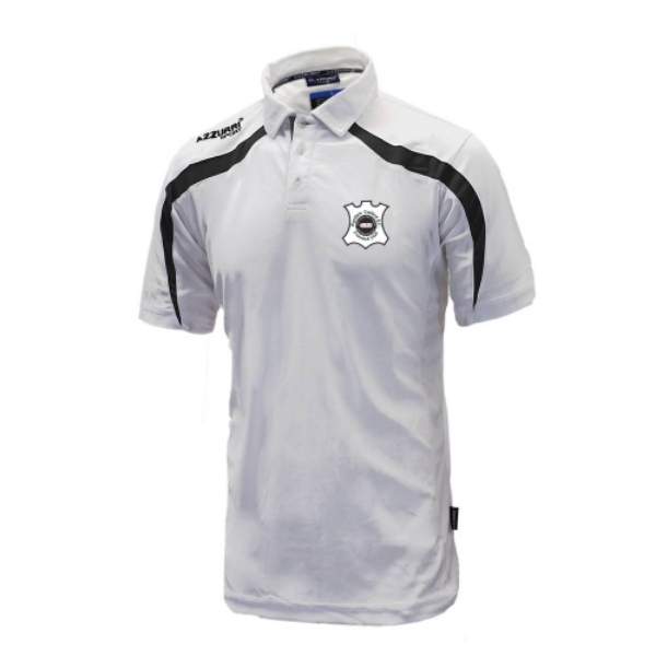 Picture of PORTLAW UNITED FC POLO White-Grey