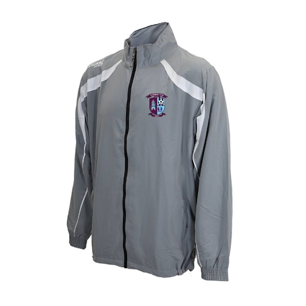 Picture of Youghal United Track Jacket Grey-White