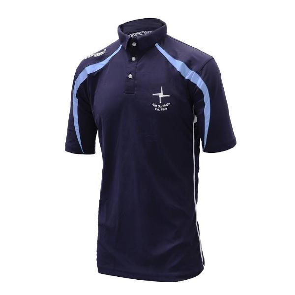Picture of Athgarvan GAA Polo Shirt Navy-Sky-White