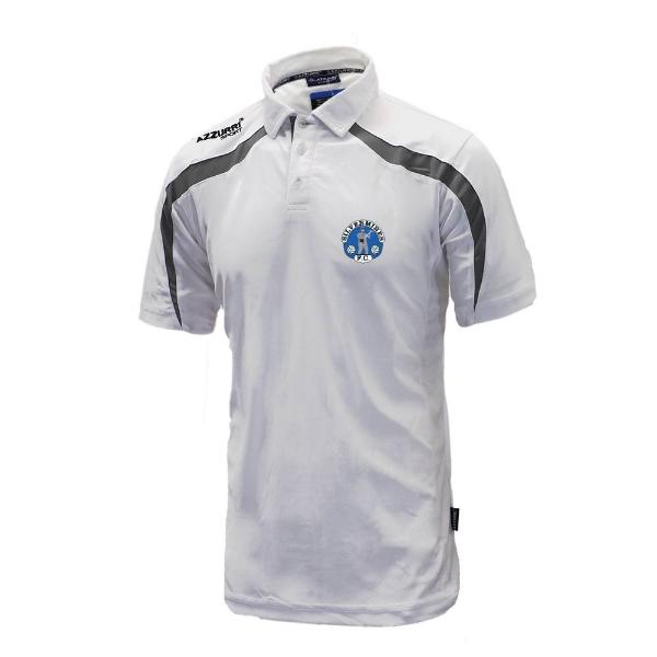 Picture of Silvermines FC Classic Poloshirt White-Grey