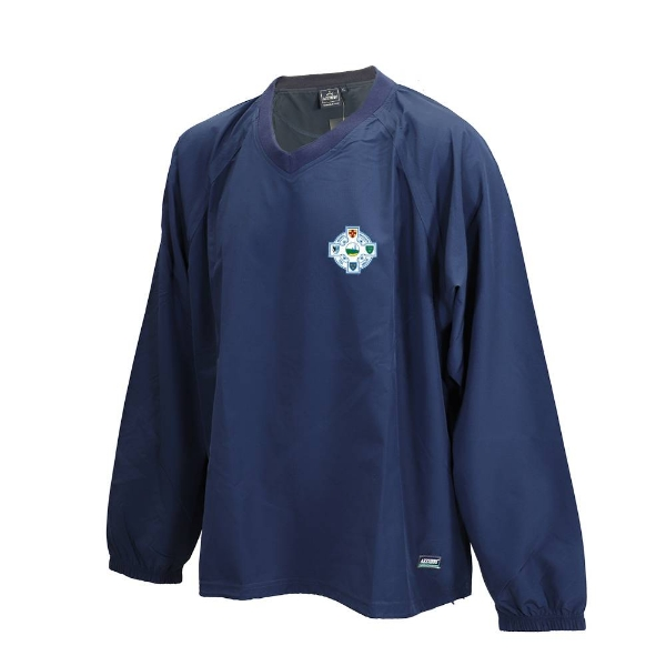 Picture of Seaview Celtic Ripstop V Neck Rugger Navy