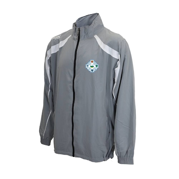 Picture of Seaview Celtic Tracksuit Jacket Grey-White