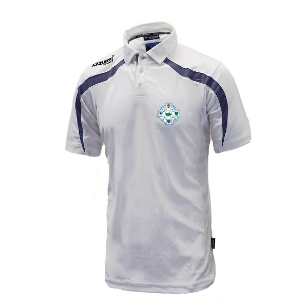 Picture of Seaview Celtic Classic Poloshirt White-Navy