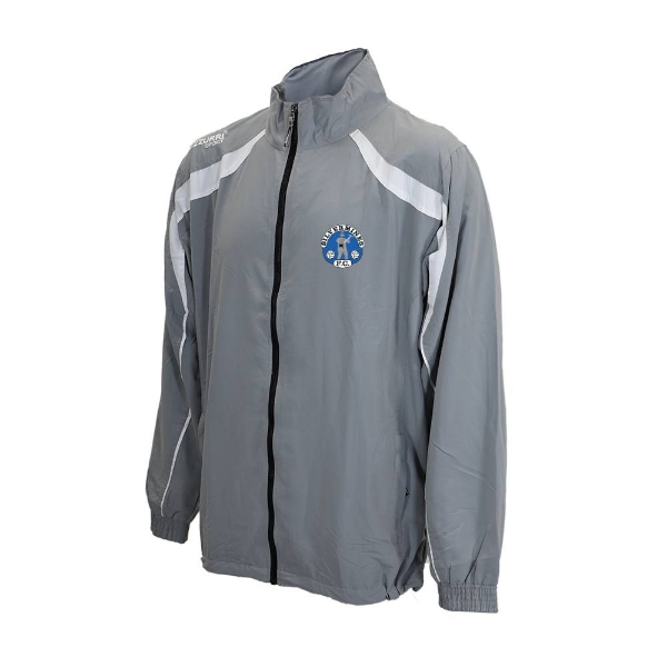 Picture of Silvermines FC Tracksuit Jacket Grey-White