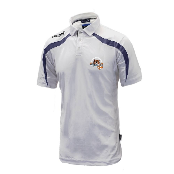 Picture of Waterford Wildcats Classic Poloshirt White-Navy