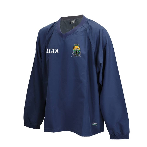 Picture of Macroom Ladies Ripstop V Neck Rugger Navy