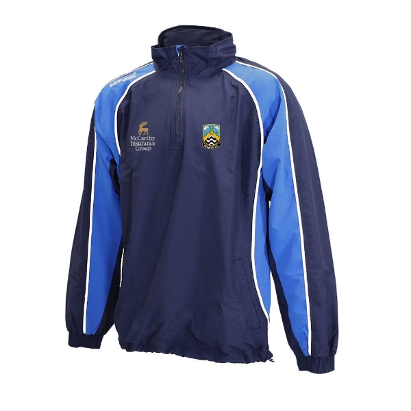 Picture of Fermoy FC Qtr Zip Jacket Navy-Royal-White