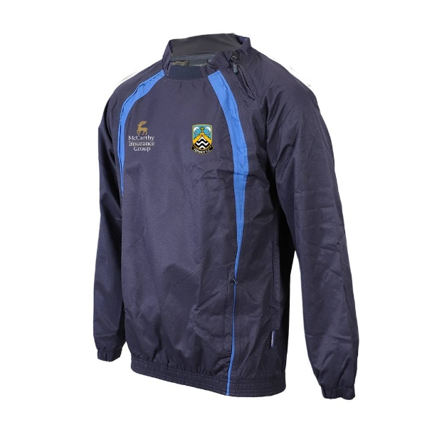 Picture of Fermoy FC Windcheater-Side Zip Neck Navy-Royal