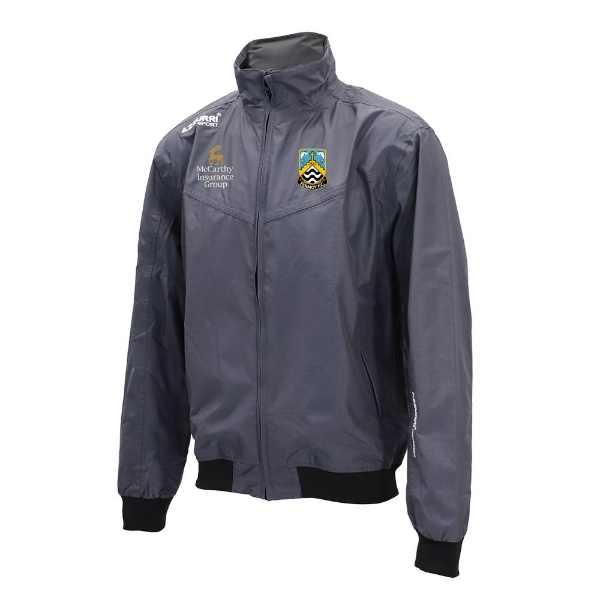 Picture of Fermoy FC Bective Rain Jacket Gunmetal Grey