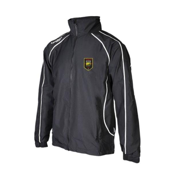Picture of MOGEELY FC Barrow Rain Jacket Black-Black-White