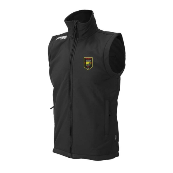 Picture of MOGEELY FC Soft Shell Bodywarmer Black