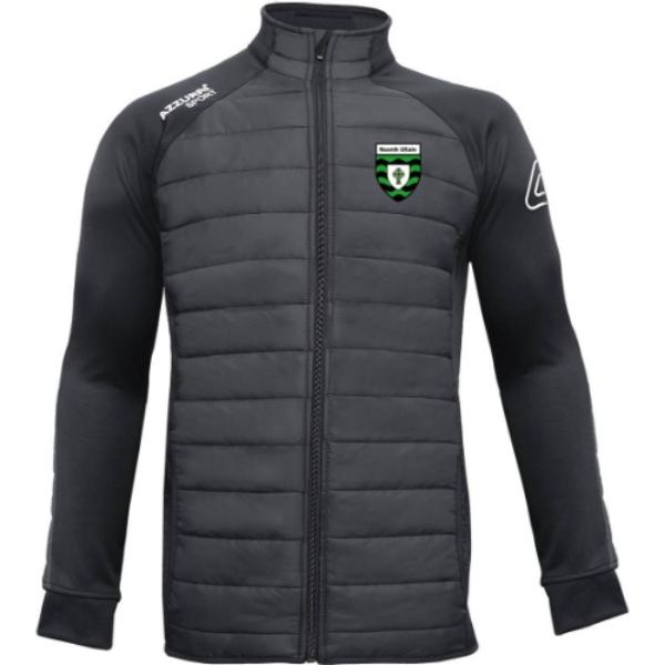 Picture of St Ultans GAA Padded Jacket Black-Black