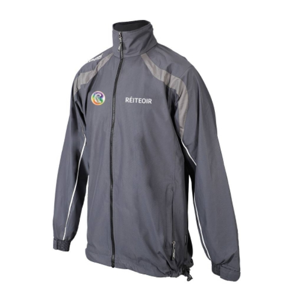 Picture of Camogie Referee Brosna Rain Jacket Gunmetal Grey-Slate Grey-White