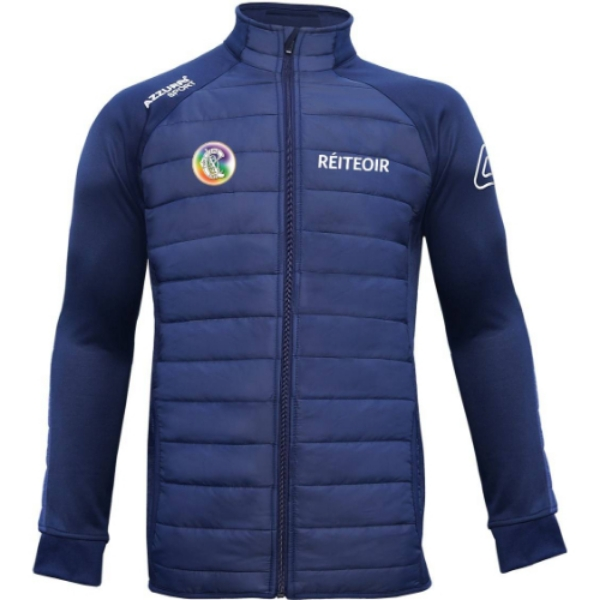 Picture of Camogie Referee Padded Jacket Navy-Navy