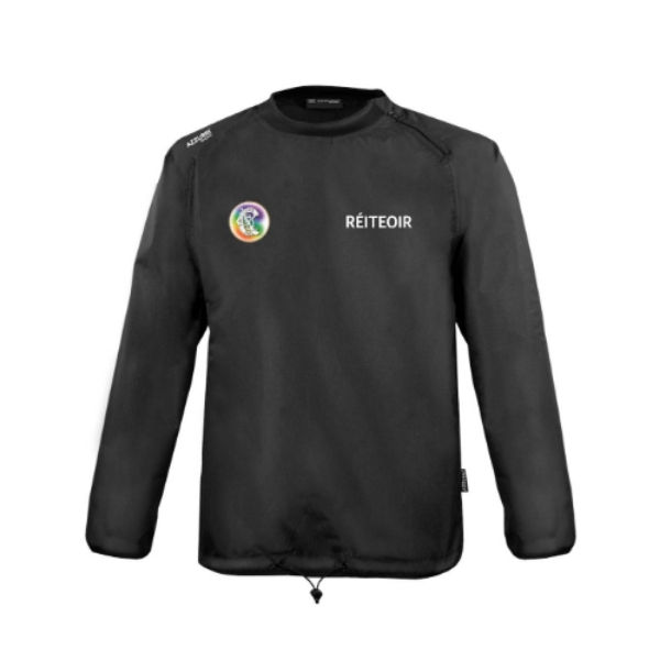 Picture of Camogie Referee Rugger Windcheater Black