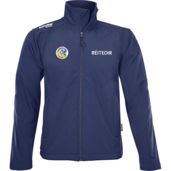 Picture of Camogie Referee Soft Shell Fleece Navy