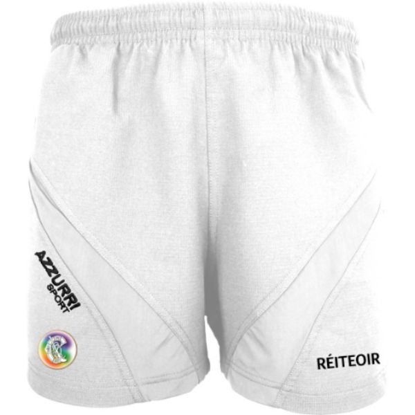 Picture of Camogie Referee Gym Shorts White-White