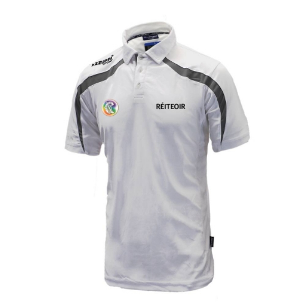 Picture of Camogie Referee Brosna Polo White-Grey