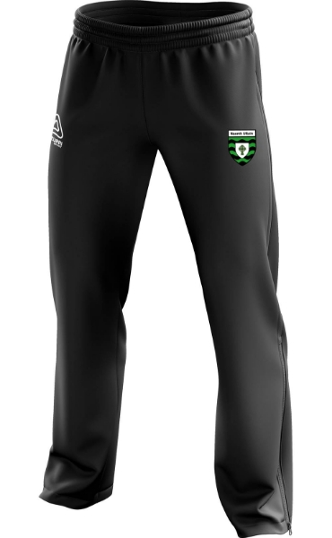 Picture of St Ultans GAA Kids Tracksuit Ends Black