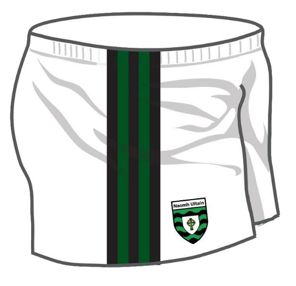 Picture of St Ultans GAA Playing Shorts Custom