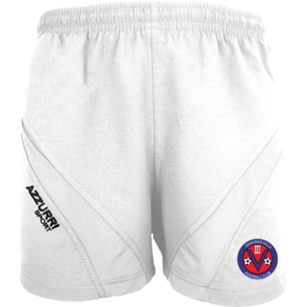 Picture of Ormonde Villa FC Gym Shorts White-White