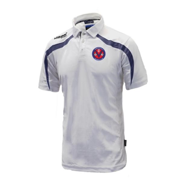 Picture of Ormonde Villa FC Classic Poloshirt White-Navy