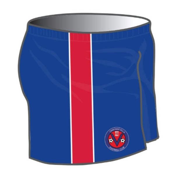 Picture of Ormonde Villa FC Playing Shorts Kids Custom