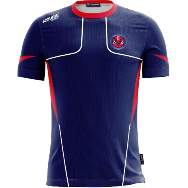 Picture of Ormonde Villa FC TShirt Kids Navy-Red-White