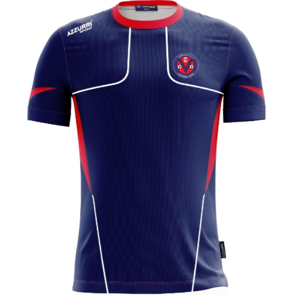 Picture of Ormonde Villa FC Tshirt Navy-Red-White