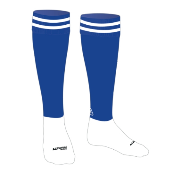 Picture of Home Socks Adults Royal-White