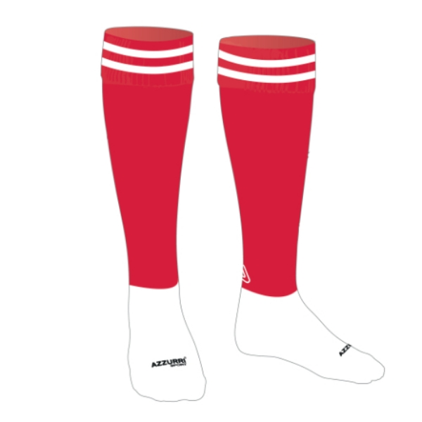 Picture of Away Socks Adults Red-White