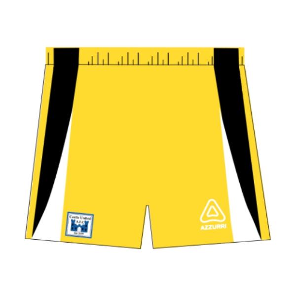Picture of Castle United Kids Goalie Shorts Custom