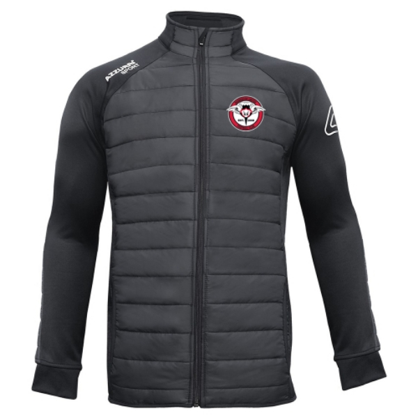 Picture of Rosbercon United FC Padded Jacket Black-Black