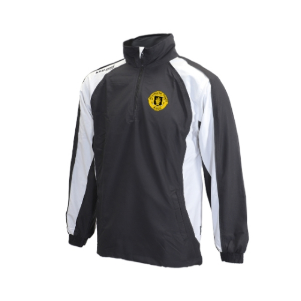 Picture of Stockholm Gaels Tracksuit Jacket - Qtr Zip Black-White-Black