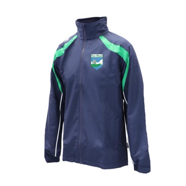 Picture of Renvyle GAA Brosna Rain Jacket Navy-Emerald-White