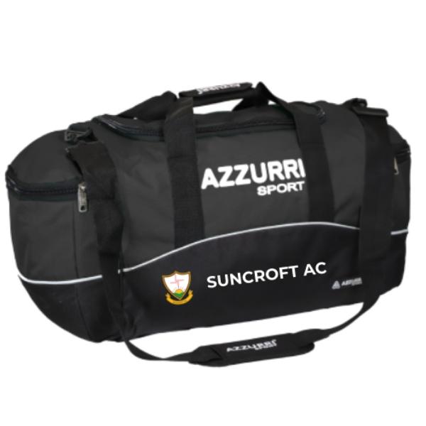 Picture of Suncroft AC Kitbag Black-Black-White